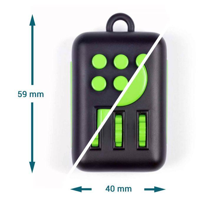 Fidget Schlüsselanhänger - Anti-Stress-Gadget