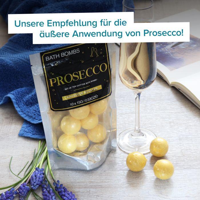 Badebomben Geschenkset - Prosecco