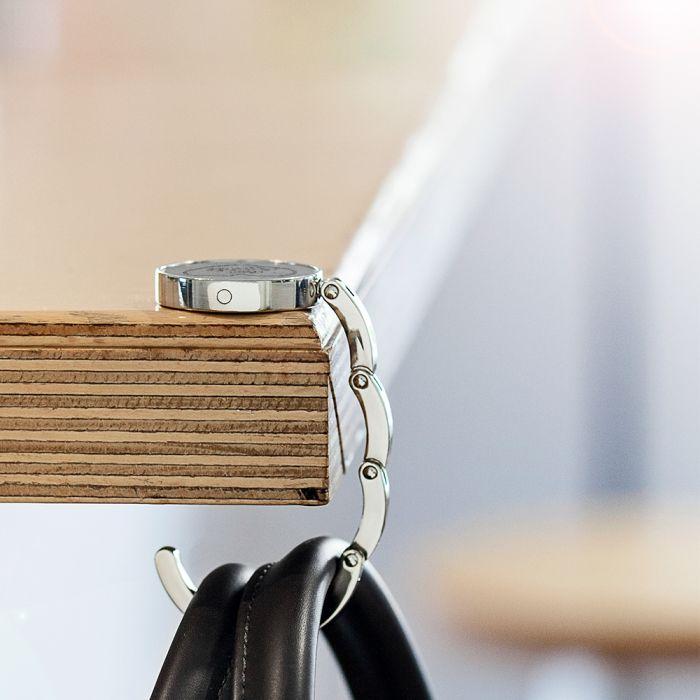 Handtaschenhalter 8er Set mit Gravur - Team Bride