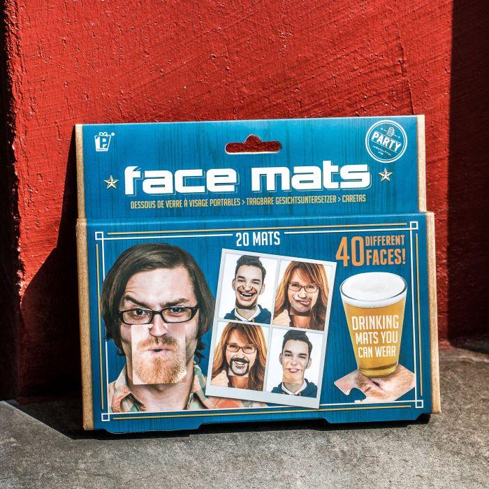Bier Deckel - Face Mats