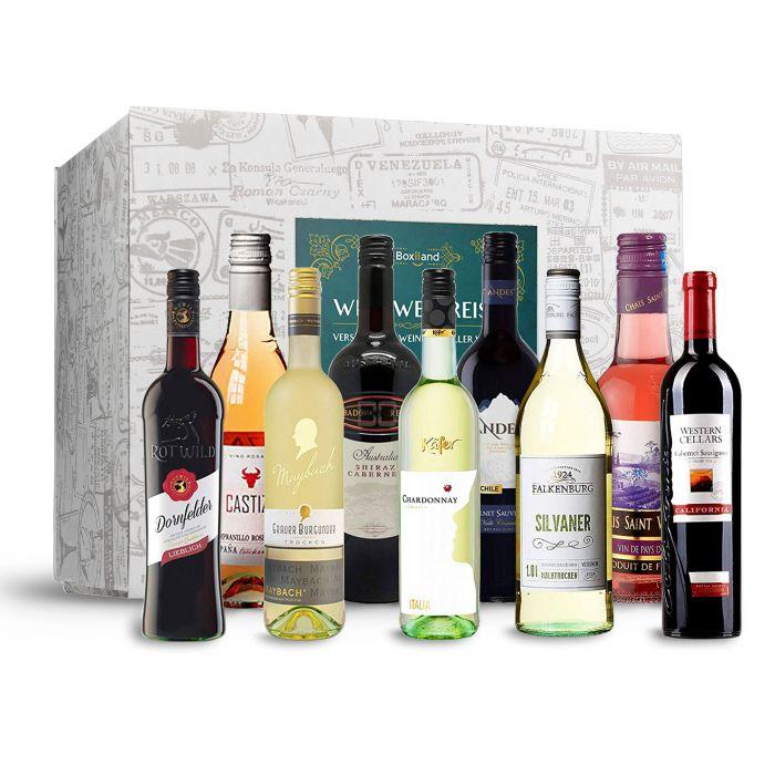 Wein Weltreise - 9er Geschenkbox