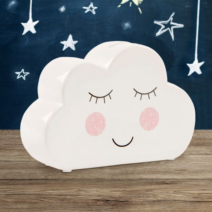 Spardose Wolke