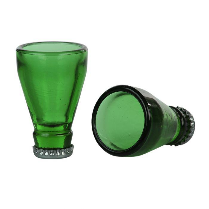 Schnapsgläser Bierflasche - 2er Set