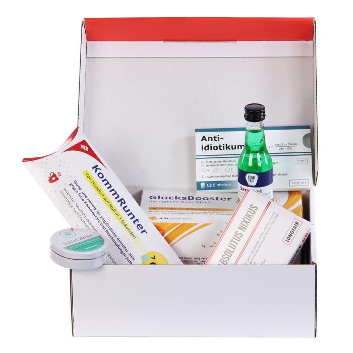 Erste Hilfe Kasten - Scherz Medikamente zum Geburtstag