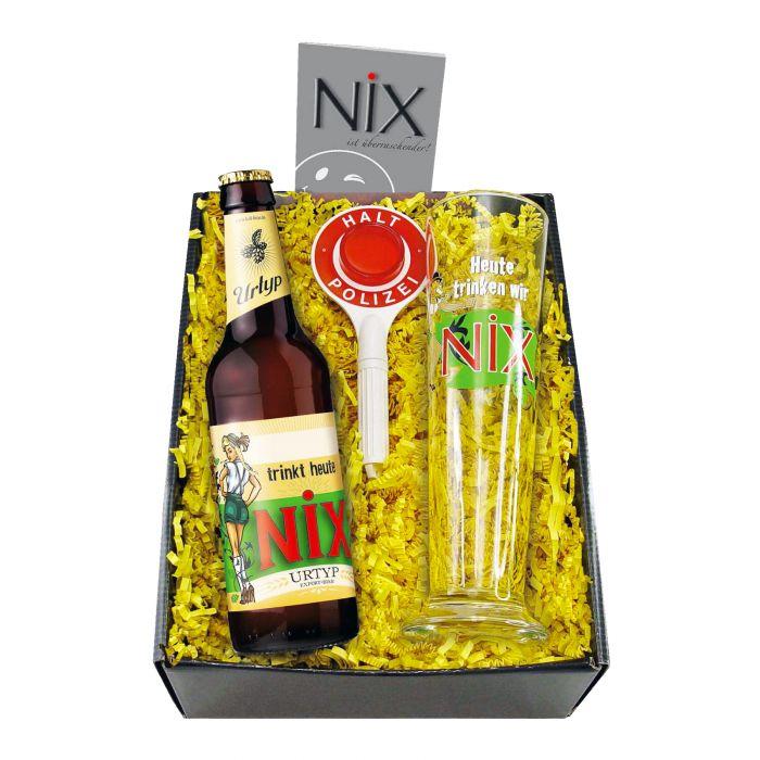 NiX im Glas - Biergeschenk Box