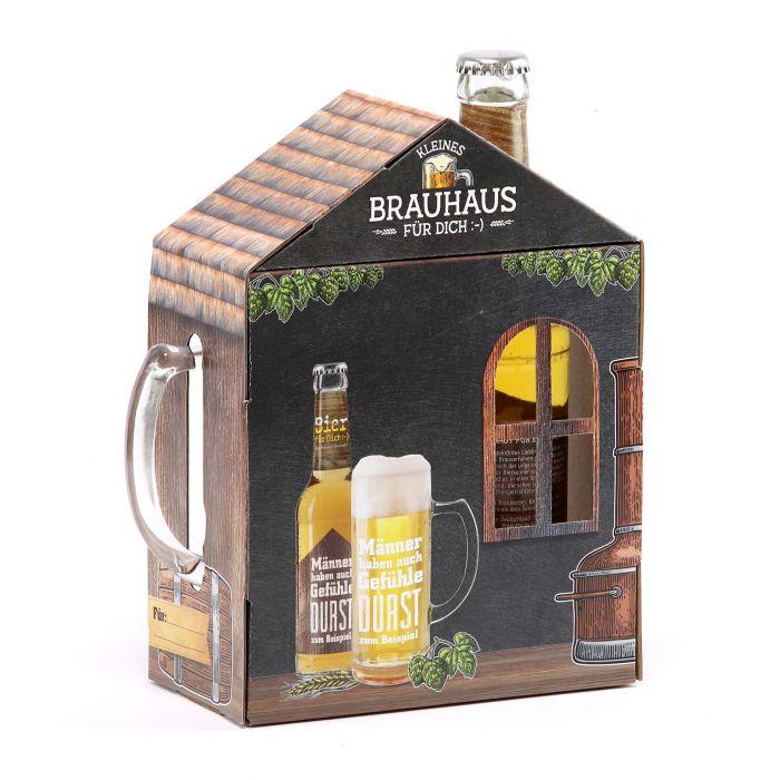 Kleines Brauhaus - Bierset für Männer mit Gefühlen