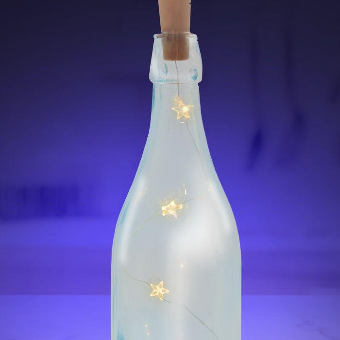 LED Lichterkette für Flaschen