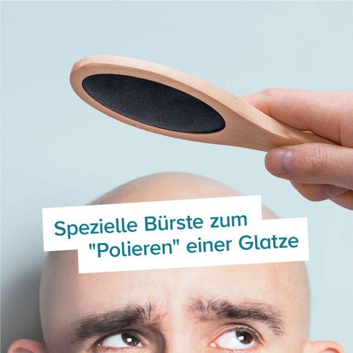 Bürste für Glatzköpfe