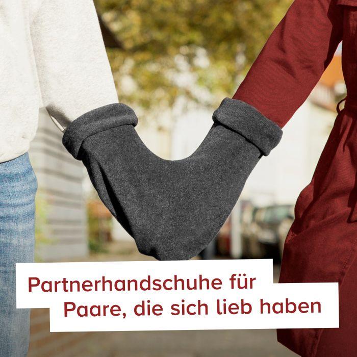 Partnerhandschuhe - grau