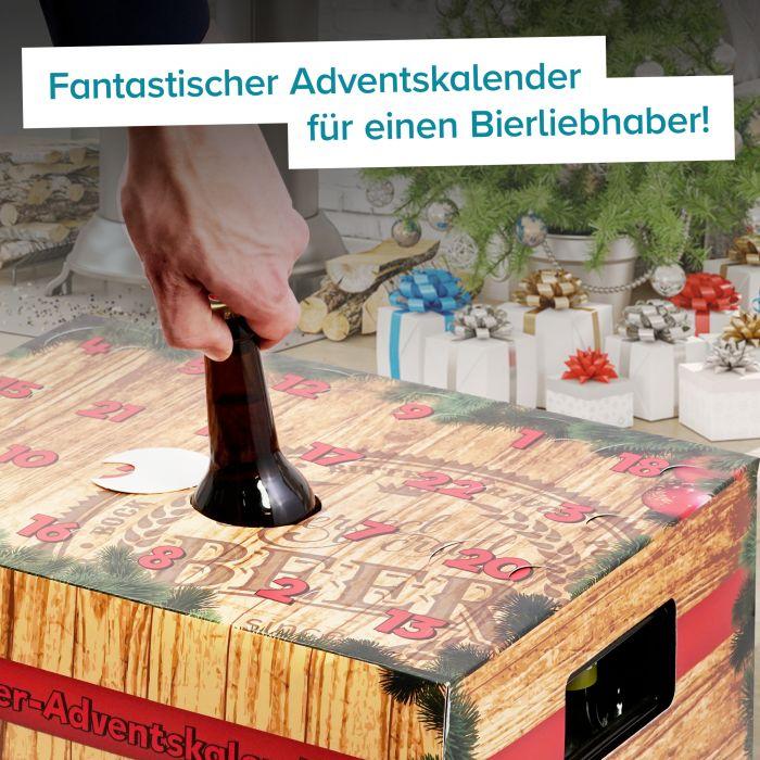 Bier Adventskalender Aufsatz
