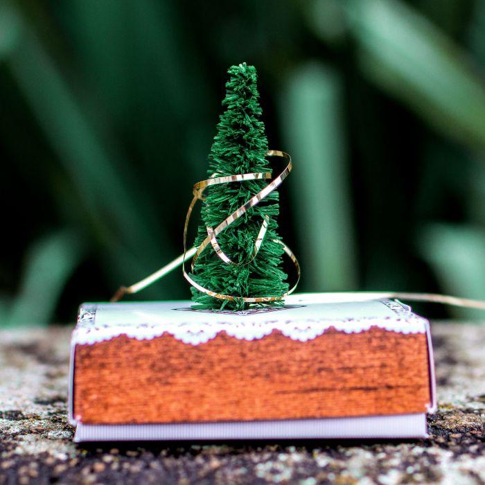 Mini Weihnachtsbaum für den Schreibtisch