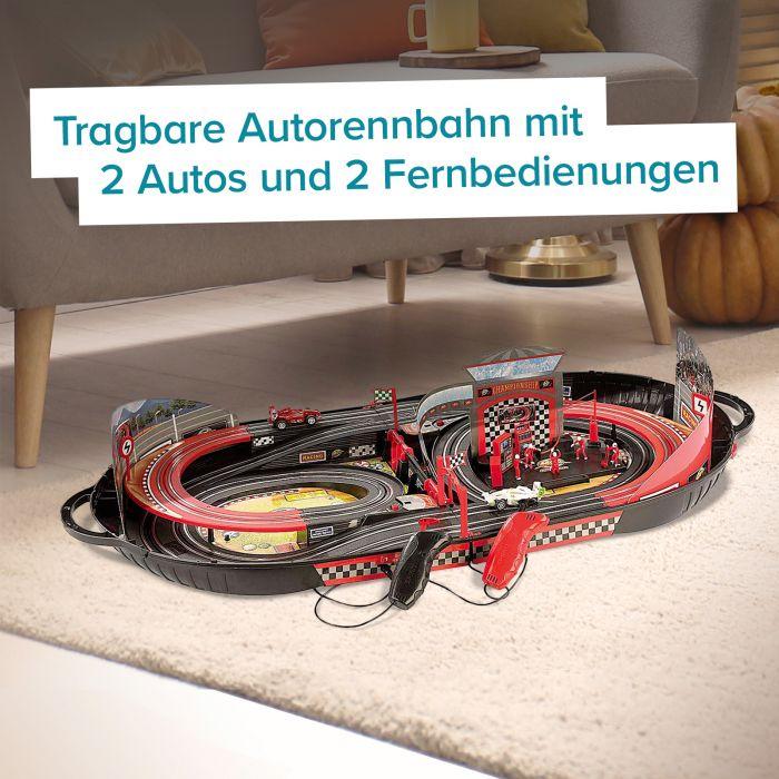 Autorennbahn im Koffer - Tragbare Rennstrecke
