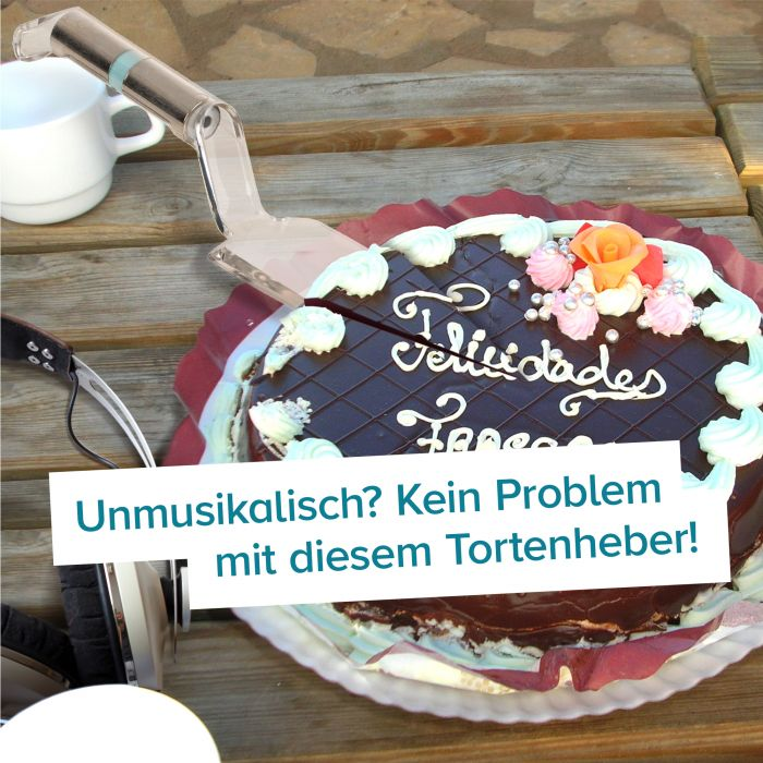 Singender Tortenheber - Happy Birthday