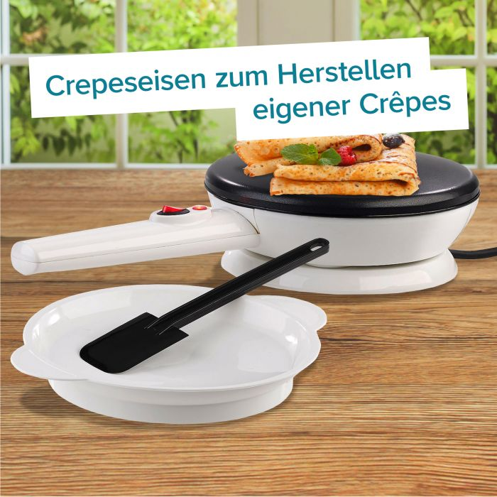 Crepes Maker mit abnehmbarer Pfanne