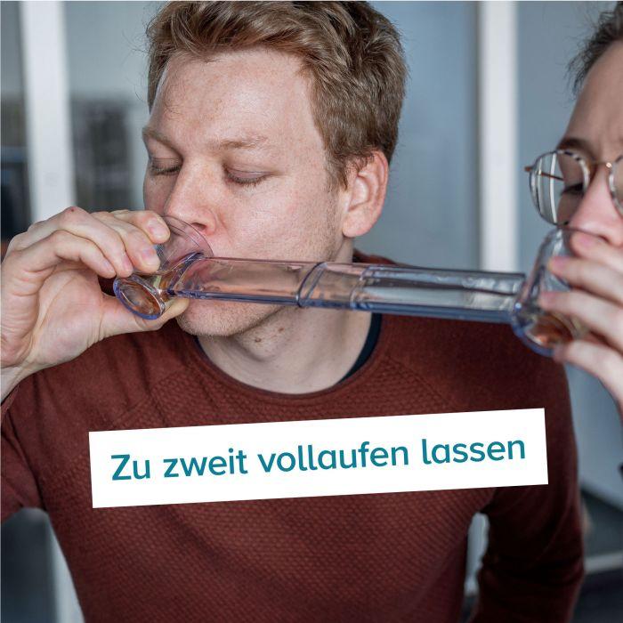 Trinkspiel - Wingman Schnapsglas