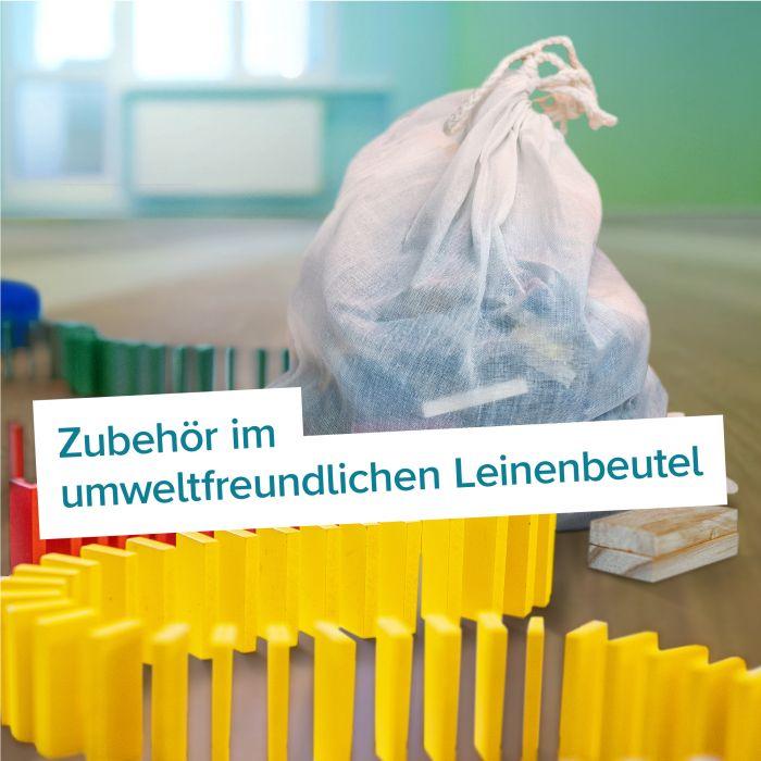 Holz Bausteine - 263-teilig