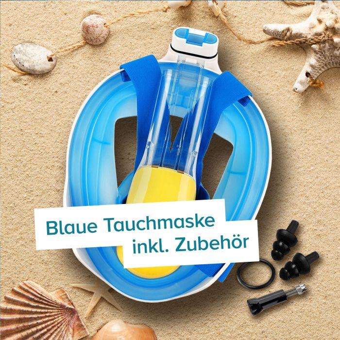 Schnorchelmaske für Kinder - blau