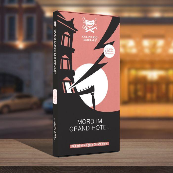 Krimidinner Zuhause - Mord im Grand Hotel