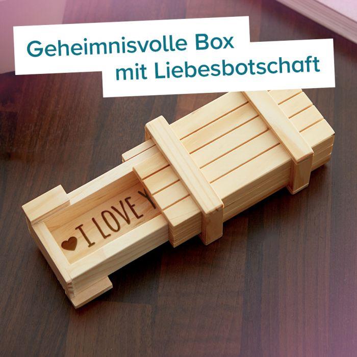 Magische IQ Box Hell - I Love You