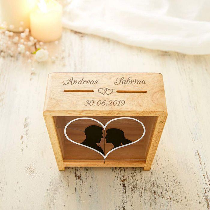 Spardose für Ehepaare - Brautpaar
