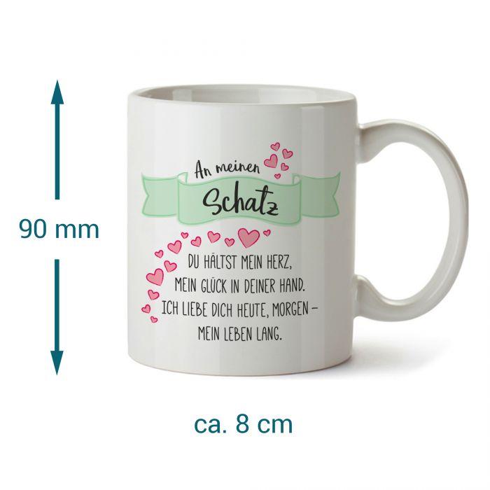 Tasse - An meinen Schatz