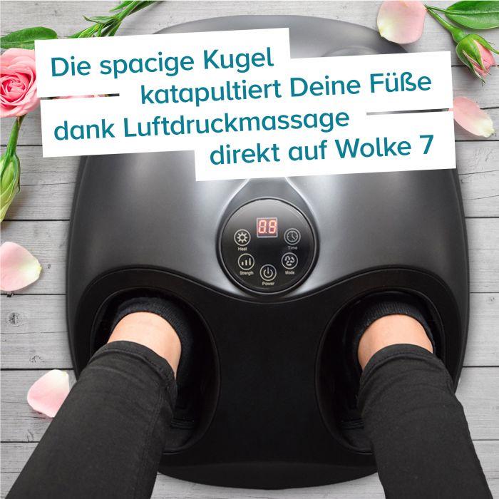 Fußmassagegerät mit Wärmefunktion - Space Design