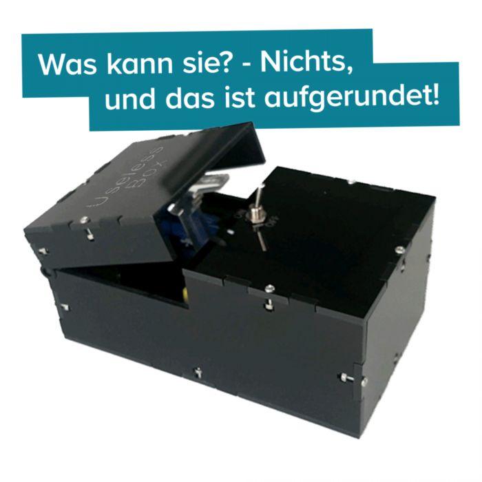 Useless Box - Scherzartikel zum Ausrasten