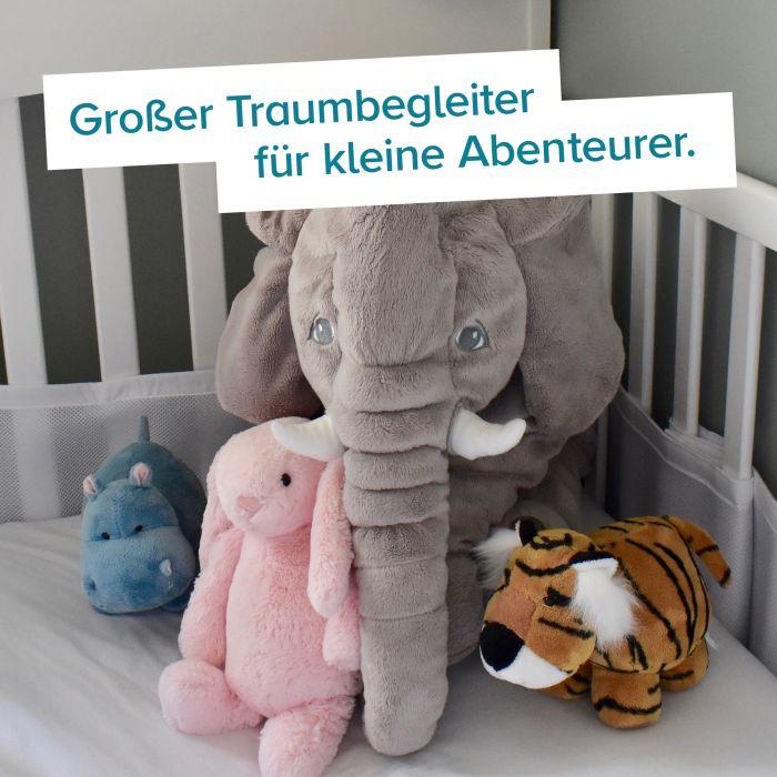 Baby Kuschelkissen - Elefant