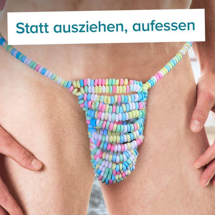 Candy String - Essbare Männer Unterwäsche