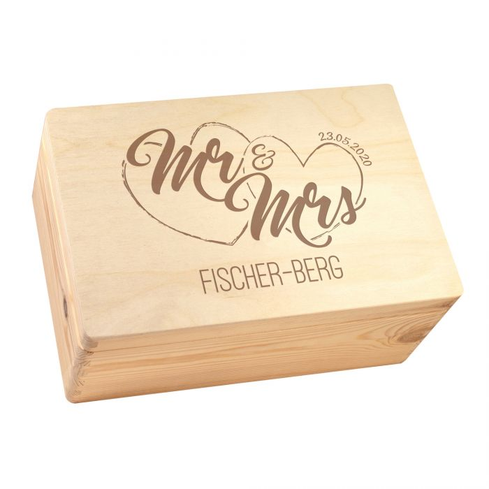 Memory Box - Mr and Mrs