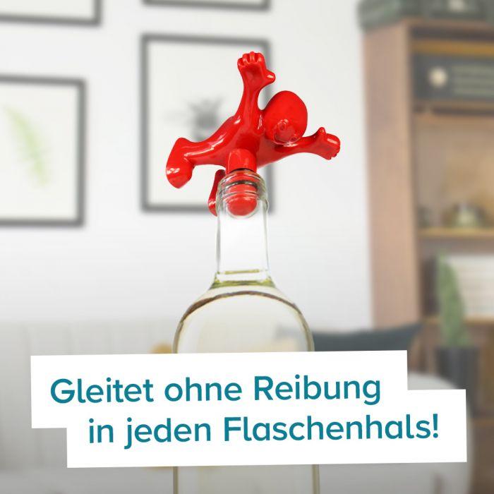 Korkenzieher und Flaschenverschluss Penis - 2er Set