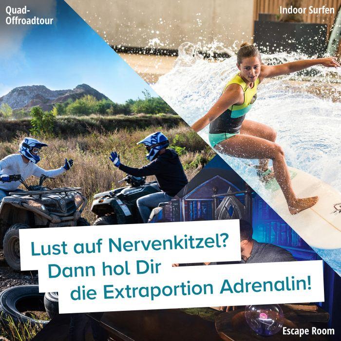 Action & Abenteuer - Erlebnisgeschenk