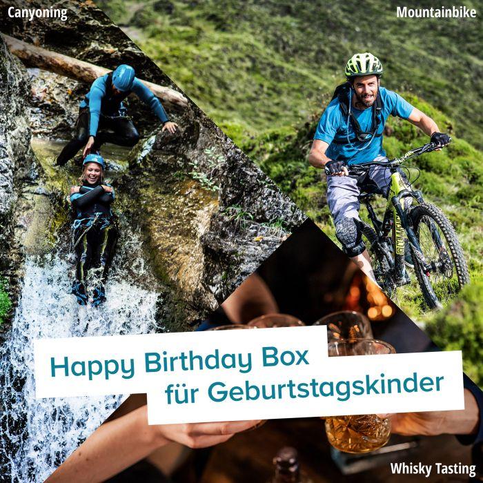 Happy Birthday - Erlebnisgeschenk