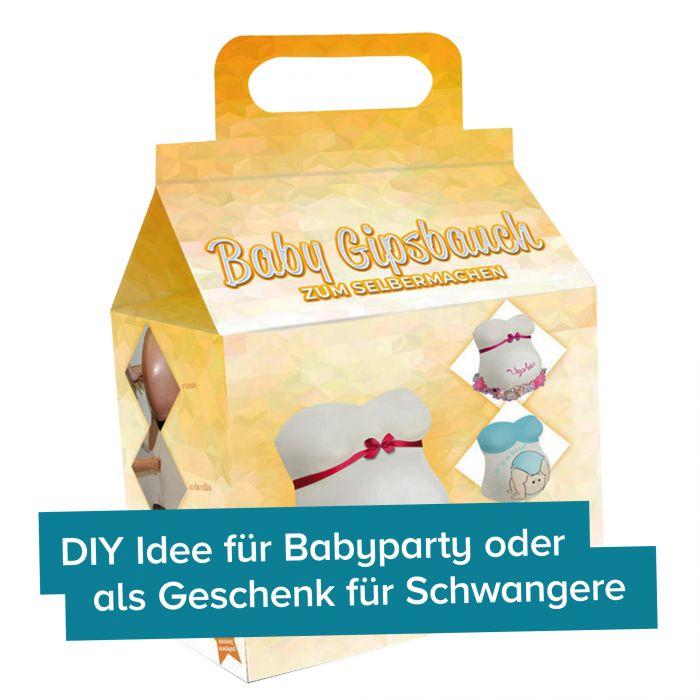 DIY Kit Gipsabdruck - Babybauch