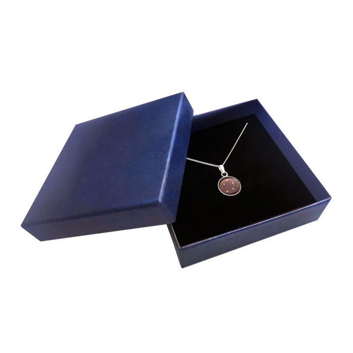 Meteorit Halskette mit Anhänger - Sternzeichen