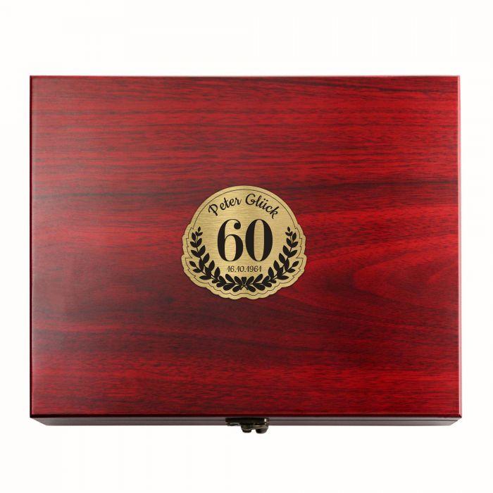 Wein Sommelier Set zum 60. Geburtstag