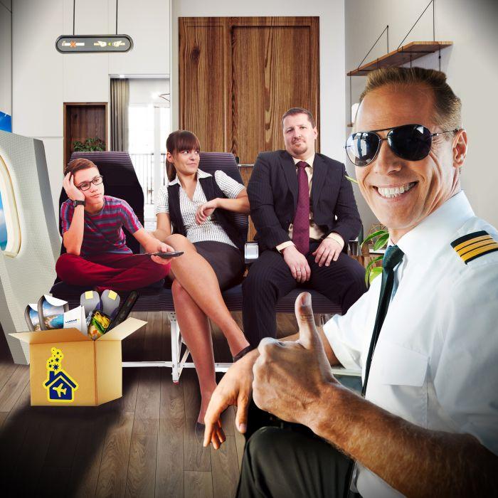 Intensiver Flug-Reisetag für Zuhause - Pandemie Special