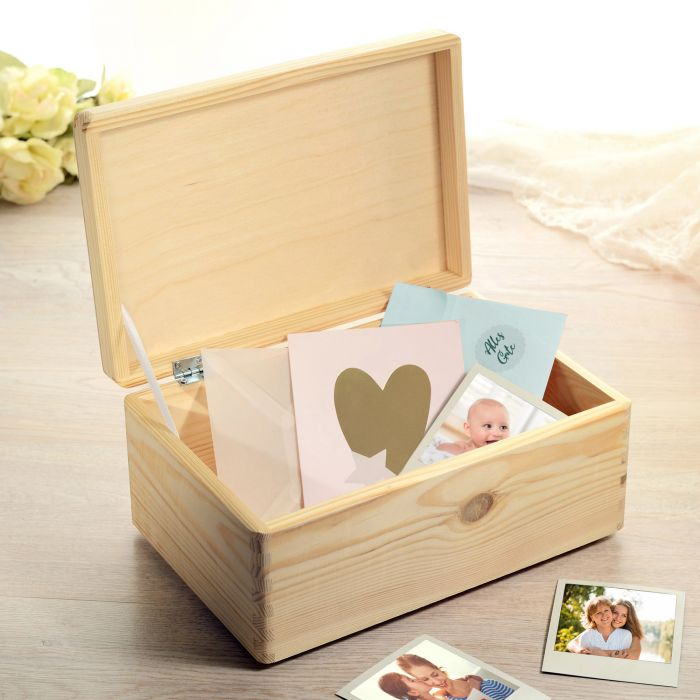 Memory Box mit Gravur - Warum Elternsein so toll ist