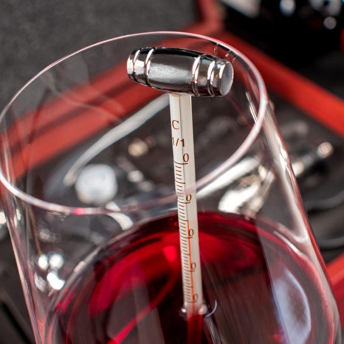 Wein Sommelier Set mit Gravur zur Silberhochzeit