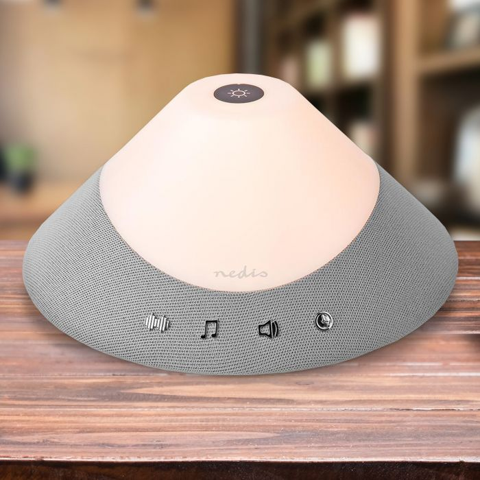 White Noise Machine - Einschlafhilfe mit Nachtlicht