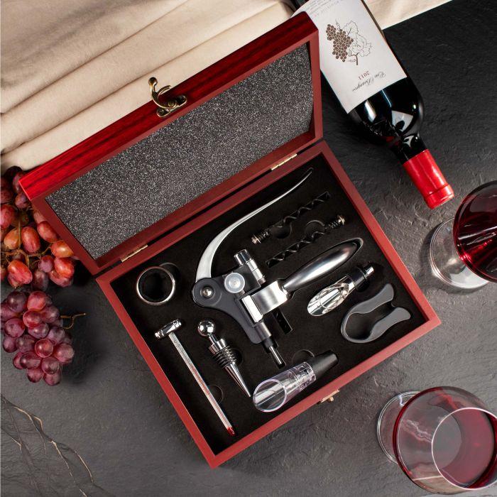 Wein Sommelier Set mit Gravur - Bester Opa