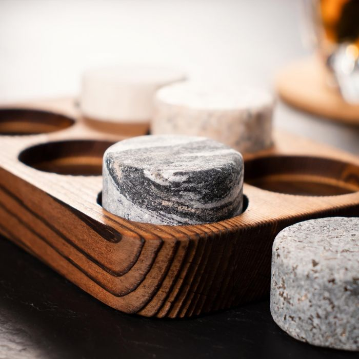Whisky Set in edler Geschenkbox zum 50. Geburtstag