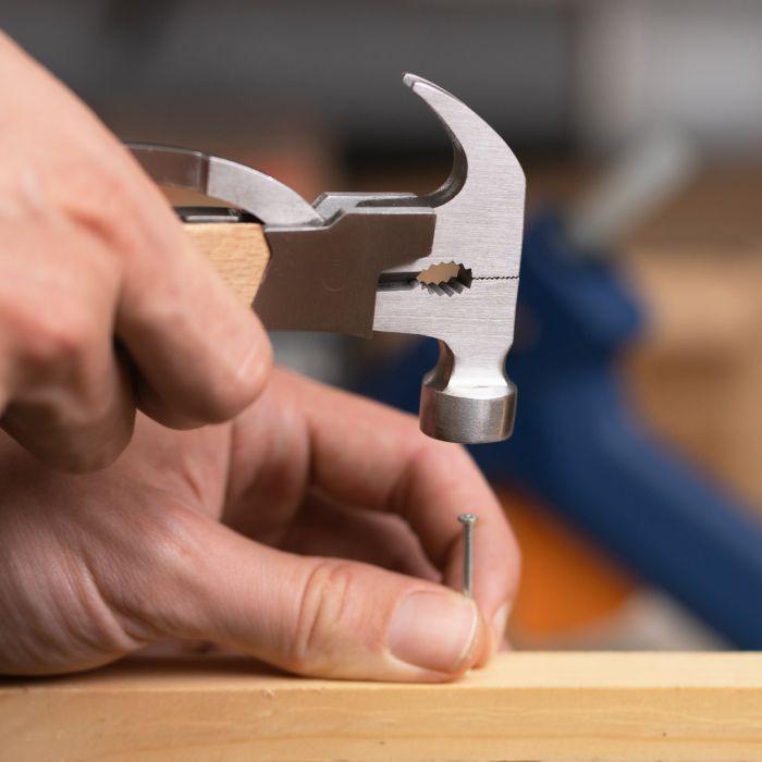 Holz Hammer Multifunktionswerkzeug - Trauzeuge