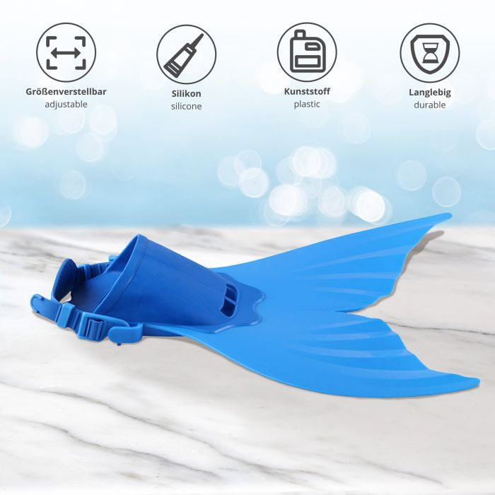 Meerjungfrau Flosse für Kinder