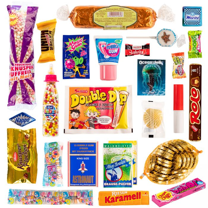 90er Süßigkeiten Adventskalender - Ghettoblaster