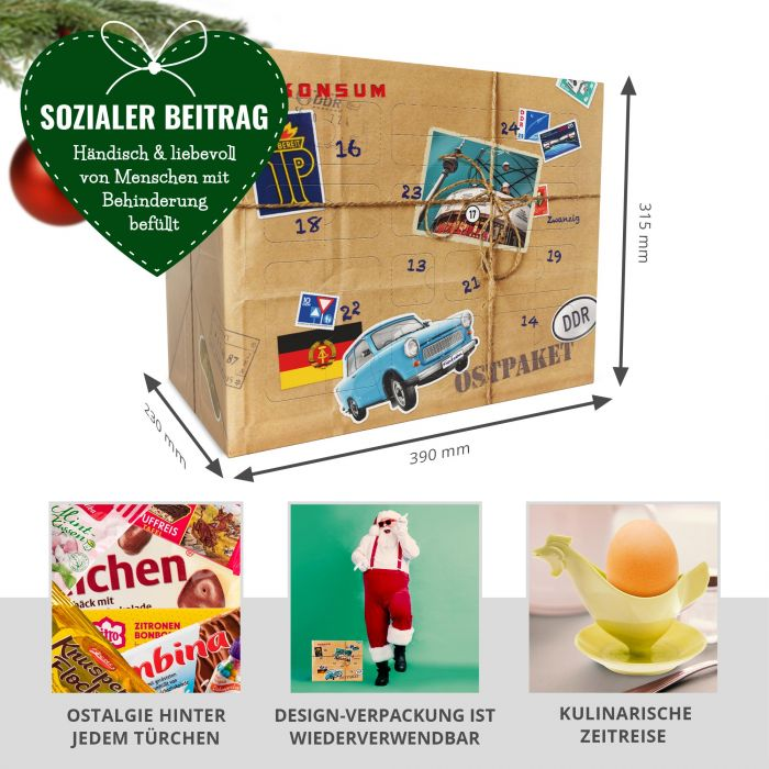 DDR Süßigkeiten Adventskalender
