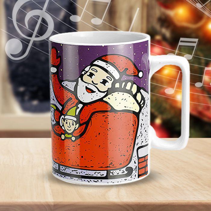 Weihnachtstasse mit Musik