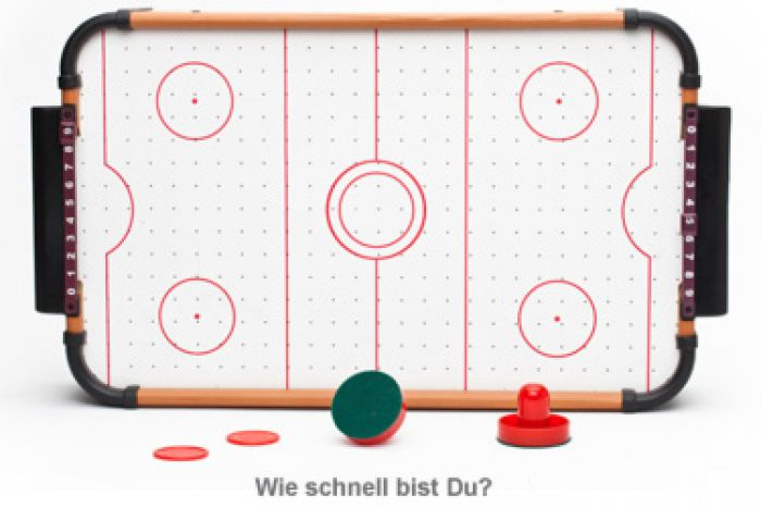 Mini Air Hockey Tisch
