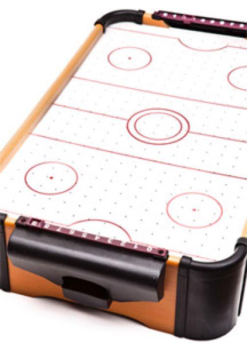 Table d'air hockey miniature
