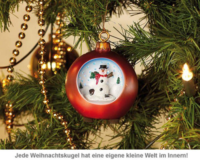 LED Weihnachtskugeln